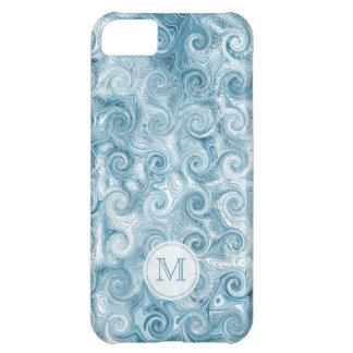 Monogram: Beachy Swirl iPhone 5C Covers