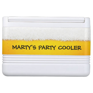 Monogram Beer Theme Cooler
