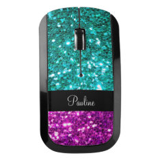 Monogram Bing Design Wireless Mouse at Zazzle