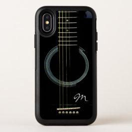 Monogram Black Acoustic Guitar Otterbox Case
