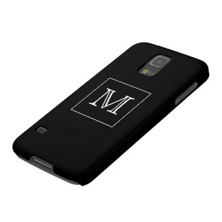 Monogram Black and White Galaxy S5 Case