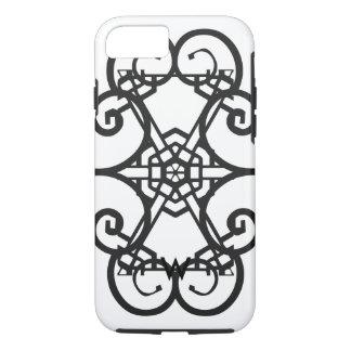 Monogram Black & white symbols iPhone 7 cover