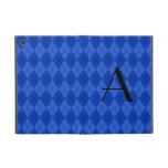 Monogram blue argyle cases for iPad mini