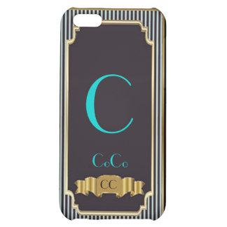 Monogram Blue Haute Couture iPhone 4 Speck Case iPhone 5C Cover