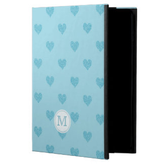 Monogram: Blue Heart Powis iCase iPad Air Case