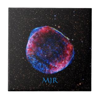 Monogram Brightest Supernova Ever space picture Ceramic Tile