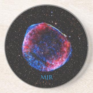 Monogram Brightest Supernova Ever space picture Beverage Coasters