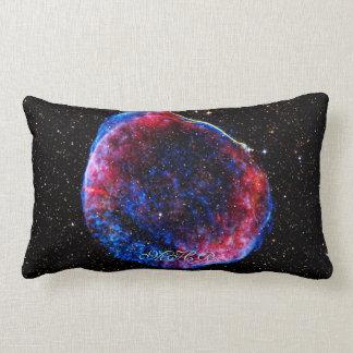 Monogram Brightest Supernova Ever space picture Lumbar Pillow