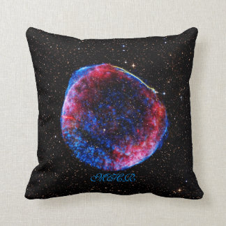 Monogram Brightest Supernova Ever space picture Throw Pillow