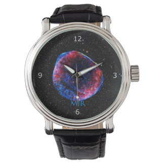 Monogram Brightest Supernova Ever space picture Wrist Watch