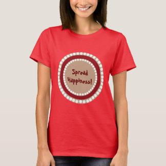 Monogram -Brown Pattern T-Shirt