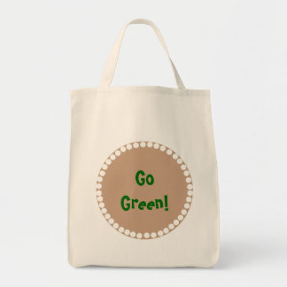 Monogram -Brown Pattern Tote Bag