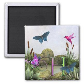 Monogram Butterfly Magnet Fantasy H