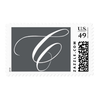 Monogram C 8 by Ceci New York Postage