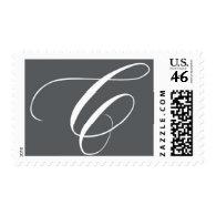 Monogram C 8 by Ceci New York Stamp