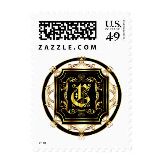 Monogram C Fits all Get Other Products W/Monogram Postage