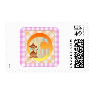 Monogram C Gifts Postage Stamp
