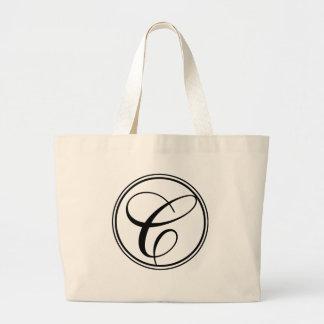 Monogram C Jumbo Tote Bag