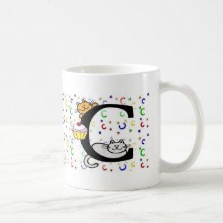 """Monogram """"C"""" Mug"""