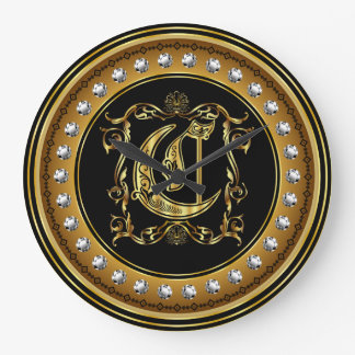 Monogram C One of a kind View notes please Wall Clock