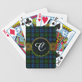 Monogram Campbell Military Tartan Bicycle Playing Cards