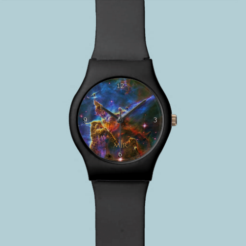 Monogram Carina Nebula Gas-cloud outer space image Watches