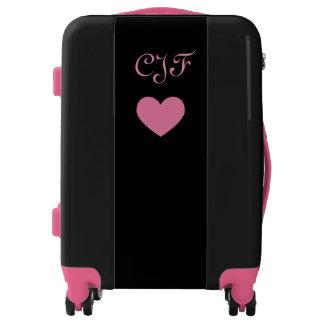 Monogram Carry On Heart Bag Luggage