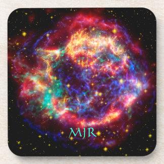 Monogram Cassiopeia, Milky Ways Youngest Supernova Beverage Coasters