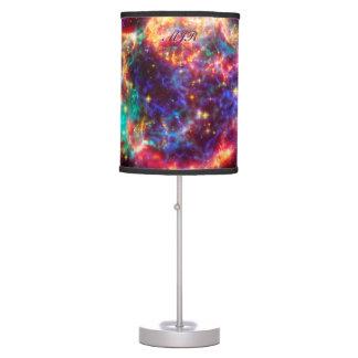 Monogram Cassiopeia, Milky Ways Youngest Supernova Desk Lamp