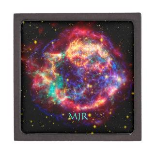 Monogram Cassiopeia, Milky Ways Youngest Supernova Keepsake Box