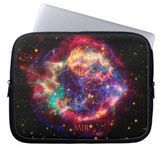 Monogram Cassiopeia, Milky Ways Youngest Supernova Laptop Sleeves