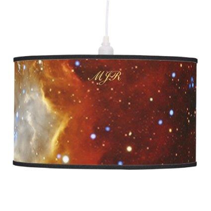 Monogram Celestial Bauble - SXP1062 space picture Lamps