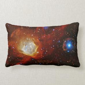 Monogram Celestial Bauble - SXP1062 space picture Pillow