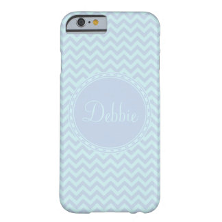 Monogram Chevron Pattern iPhone 6 Barely There Barely There iPhone 6 Case