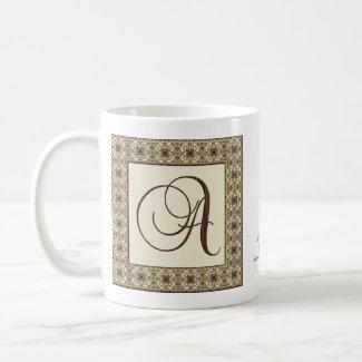 Monogram : Choca Mocha : A mug