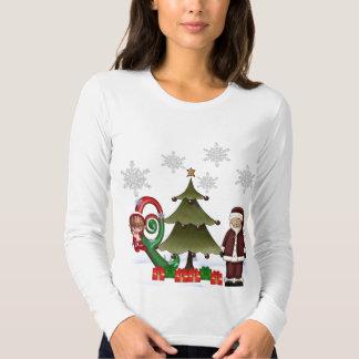 Monogram Christmas T Shirt Q