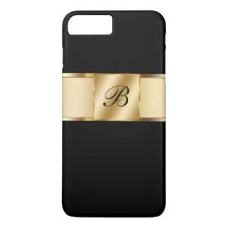 Monogram Classy Gold Style iPhone 7 Plus Case
