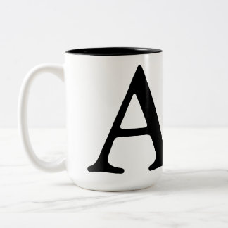 monogram coffee cup customized coffee mugs