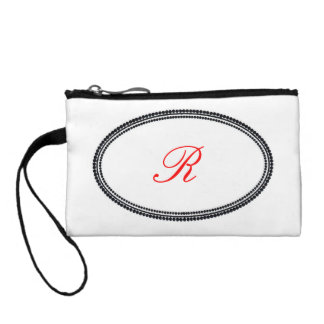 Monogram Coin Wallet