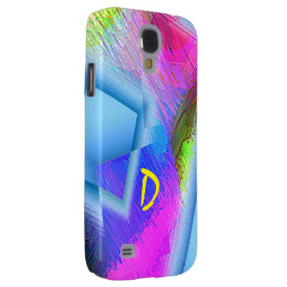 Monogram Colored Samsung Galaxy S4 cover