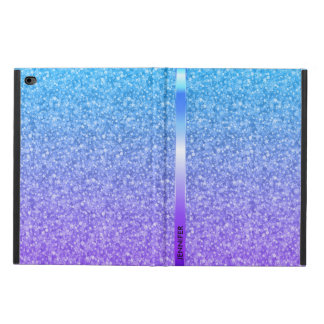Monogram Colorful Glitter And Sparkles Pattern Powis iPad Air 2 Case