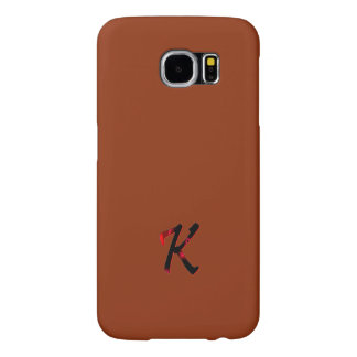 Monogram Cover Screen Protector for Galaxy Samsung Galaxy S6 Cases