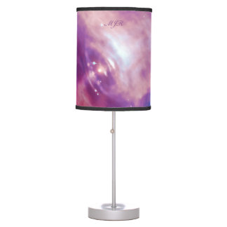Monogram Crab Pulsar deep outer space picture Table Lamp