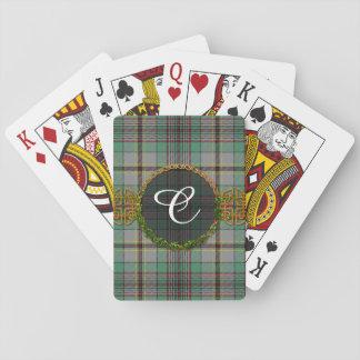 Monogram Craig Tartan Playing Cards