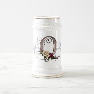 Monogram Cup Mug Rose Q