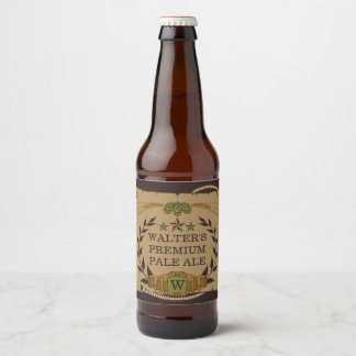Monogram Custom Beer Labels