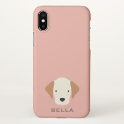iPhone X Case with Beagle Phone Cases design