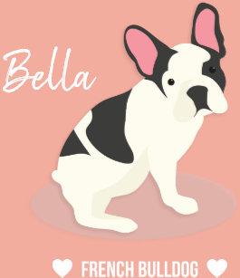 French Bulldog Dog Plates   Zazzle
