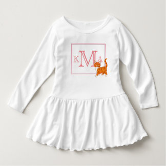 Monogram Cute Kitty Dress