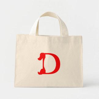 Monogram D Floral Bag Mini Tote Bag